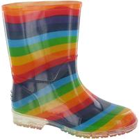 Schuhe Mädchen Gummistiefel Cotswold PVC KIDS RAINBOW Bunt