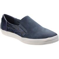 Schuhe Damen Slip on Divaz  Blau