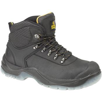 Schuhe Herren Sicherheitsschuh Amblers FS199 (BLACK) Schwarz