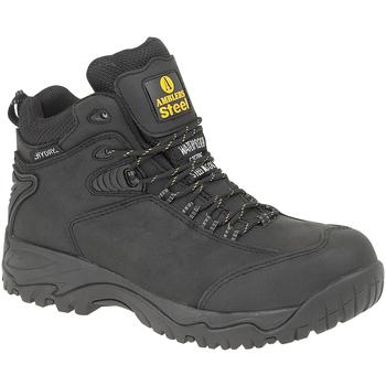 Schuhe Herren Sicherheitsschuh Amblers FS190 SAFETY Schwarz