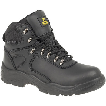 Schuhe Damen Sicherheitsschuh Amblers FS218 Safety Schwarz