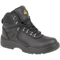 Schuhe Herren Sicherheitsschuh Amblers FS218 Safety Schwarz