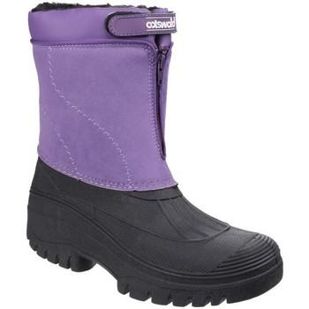 Schuhe Damen Schneestiefel Cotswold Venture Lila