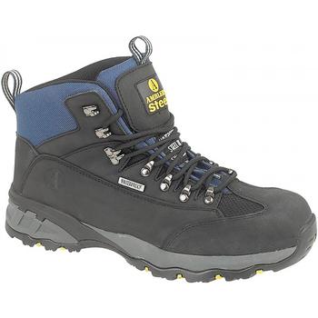 Schuhe Damen Sicherheitsschuh Amblers FS161 SAFETY Schwarz