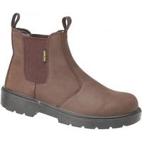 Schuhe Damen Low Boots Amblers FS128 Safety Braun