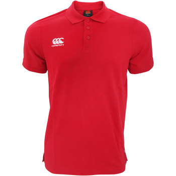 Kleidung Herren Polohemden Canterbury CN220 Rot