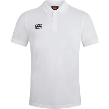 Kleidung Herren Polohemden Canterbury CN220 Weiß