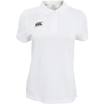 Kleidung Damen Polohemden Canterbury CN220F Weiß