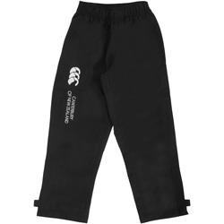 Kleidung Kinder Jogginghosen Canterbury CN250B Schwarz