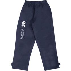 Kleidung Kinder Jogginghosen Canterbury CN250B Marineblau