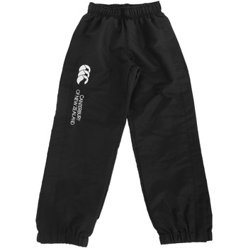 Kleidung Kinder Jogginghosen Canterbury CN251B Schwarz