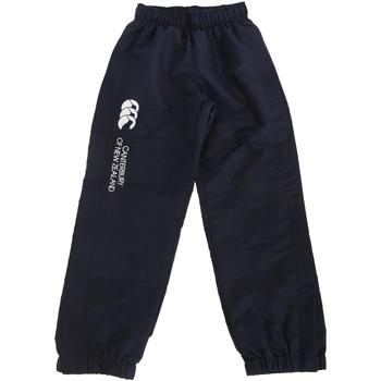 Kleidung Kinder Jogginghosen Canterbury CN251B Marineblau
