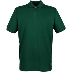Kleidung Herren Polohemden Henbury HB101 Flaschengrün