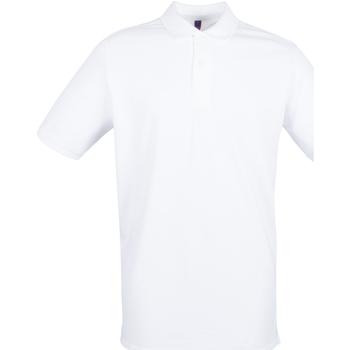 Kleidung Herren Polohemden Henbury HB101 Weiß