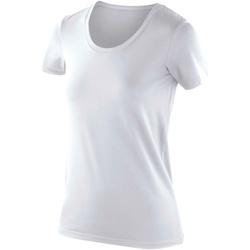 Kleidung Damen T-Shirts Spiro SR280F Weiß