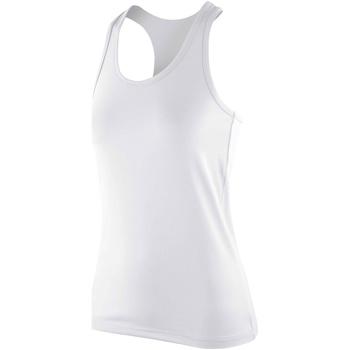 Kleidung Damen Tops Spiro SR281F Weiß