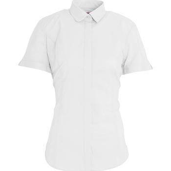 Kleidung Damen Hemden Brook Taverner BK133 Weiß