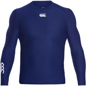 Kleidung Herren Langarmshirts Canterbury CN360 Marineblau
