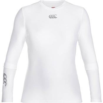 Kleidung Herren Langarmshirts Canterbury CN360 Weiß