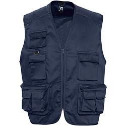 Kleidung Herren Strickjacken Sols 43630 Marineblau