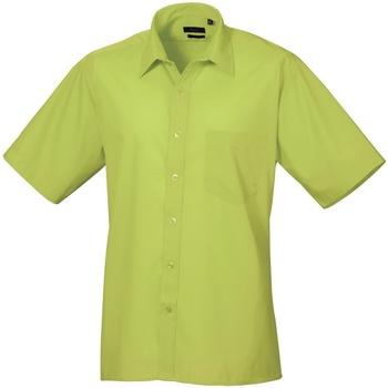 Kleidung Herren Kurzärmelige Hemden Premier PR202 Limette