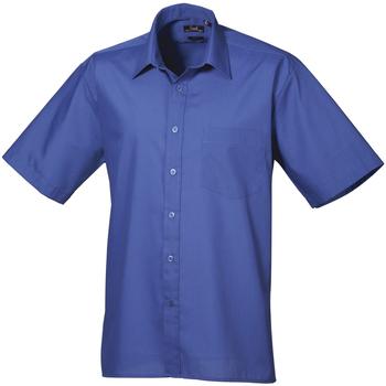 Kleidung Herren Kurzärmelige Hemden Premier PR202 Königsblau