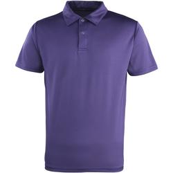 Kleidung Polohemden Premier PR612 Violett