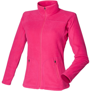 Kleidung Damen Fleecepullover Skinni Fit SK028 Marineblau