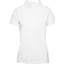 Kleidung Damen Polohemden Skinni Fit SK042 Weiß