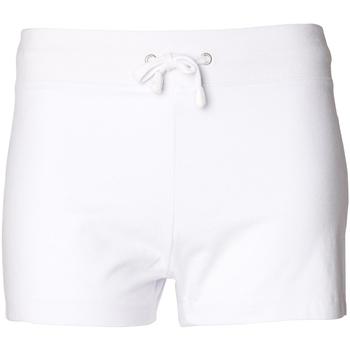 Kleidung Damen Shorts / Bermudas Skinni Fit SK062 Weiß