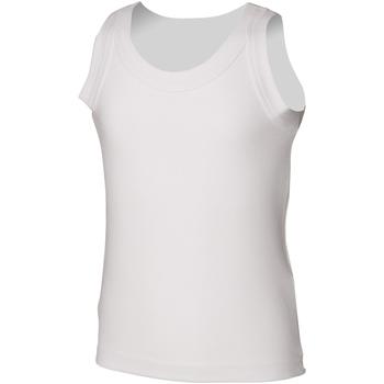 Kleidung Kinder Tops Skinni Fit SM016 Weiß