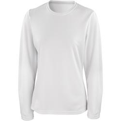 Kleidung Damen Langarmshirts Spiro S254F Weiß