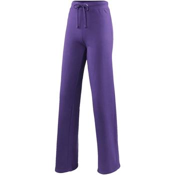Kleidung Damen Jogginghosen Awdis JH075 Violett