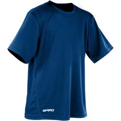 Kleidung Jungen T-Shirts Spiro S253J Marineblau