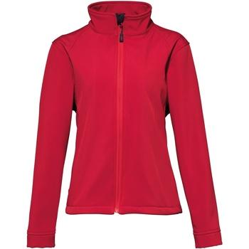 Kleidung Damen Fleecepullover 2786 TS12F Rot