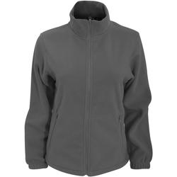 Kleidung Damen Fleecepullover 2786 TS14F Graphit