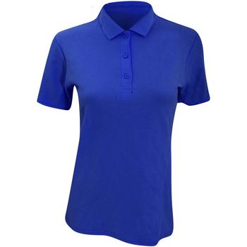 Kleidung Damen Polohemden Anvil 6280L Royalblau