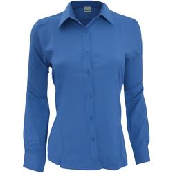 Kleidung Damen Hemden Henbury Wicking Königsblau