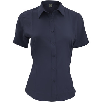 Kleidung Herren Kurzärmelige Hemden Henbury HB596 Marineblau