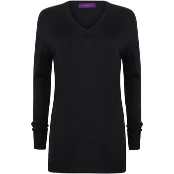 Kleidung Damen Pullover Henbury Cashmere Touch Marineblau