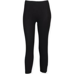 Kleidung Damen Leggings Skinni Fit SK068 Schwarz