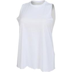 Kleidung Damen Tops Skinni Fit High Neck Weiß
