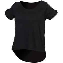 Kleidung Damen T-Shirts Skinni Fit SK233 Schwarz