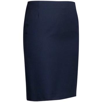 Kleidung Damen Röcke Brook Taverner Sigma Straight Marineblau
