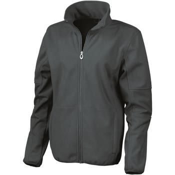 Kleidung Damen Trainingsjacken Result R131F Schwarz