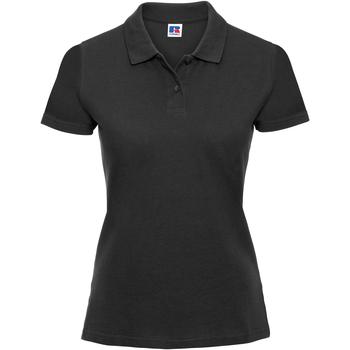 Kleidung Damen Polohemden Russell 569F Schwarz