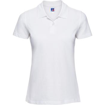 Kleidung Damen Polohemden Russell 569F Weiß