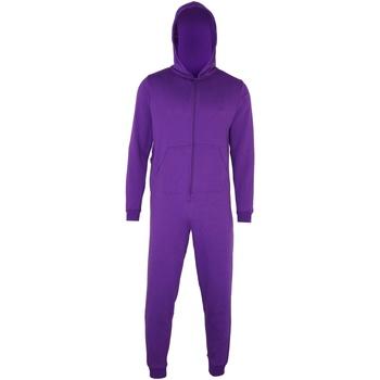 Kleidung Kinder Pyjamas/ Nachthemden Colortone CC01J Violett