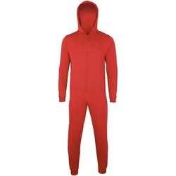 Kleidung Kinder Pyjamas/ Nachthemden Colortone CC01J Rot