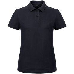 Kleidung Damen Polohemden B And C ID.001 Marineblau